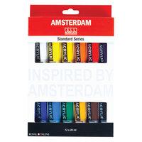 Amsterdam Acrylverf Standard Set, 12dlg.