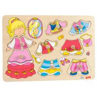 Houten Aankleedpuzzel Prinses