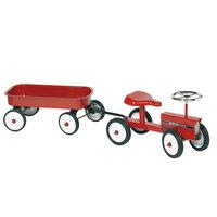 Loopauto Tractor met Aanhanger