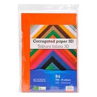 Ribbelkarton 3D, 10 kleuren