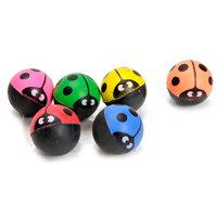Gekleurde Stuiterbal - Lieveheerbeestje