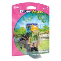 Playmobil 9074 Dierenverzorger met Baby Gorilla