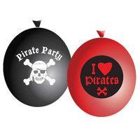 Ballonnen Piraten, 6st.