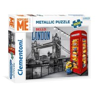 Clementoni Metallic Puzzel Minions in Londen, 1000st.