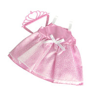 New Born Baby Prinses Outfit - Lichtroze, 38-43 cm