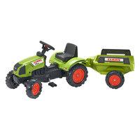 Falk Claas Arion 410 Tractor met Aanhanger
