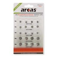 ARCAS Alkaline Knoopcelbatterijen, 20st.