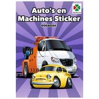 Autoâs en Machines Sticker Doeboek
