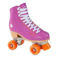 Hudora Disco Rolschaatsen Paars/Oranje, maat 37