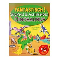 Fantastisch Stickerboek - Dinosaurus