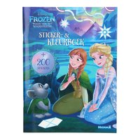 Disney Frozen Sticker- en Kleurboek