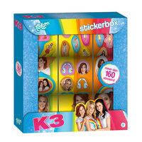 Totum K3 Stickerbox, 9 Rollen