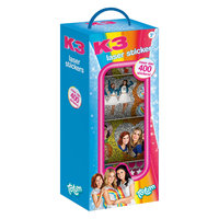 Totum K3 Stickerbox, 4 Rollen