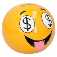 Spaarpot Lachgezicht Dollar Ogen