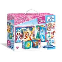 Clementoni Puzzelblokken Disney Prinses, 12st.