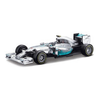 Bburago Mercedes Raceauto Lewis Hamilton