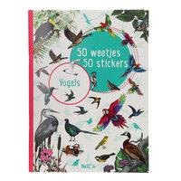 50 Weetjes 50 Stickers - Vogels