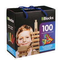 BBlocks Bouwplankjes Kleur, 100 dlg.