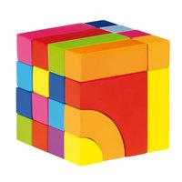Houten Blok- en legpuzzel - Kleur