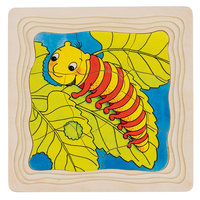 Houten Lagenpuzzel - Vlinder