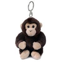 WNF Pluche - Chimpansee Sleutelhanger, 10cm