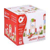Classic World Houten Blokken Junior, 50dlg.