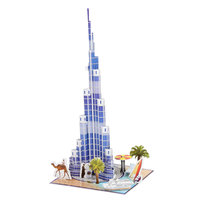3D Puzzel Khalifa Tower Dubai