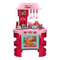 Kinderkeuken met Licht en Geluid Roze