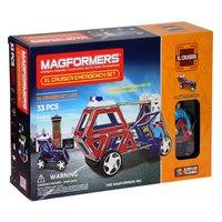Magformers XL Cruisers Emergency, 33dlg.