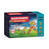 Magformers Neon Set, 60dlg.