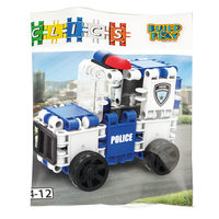 Clics Build & Play - Politiewagen