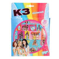 Totum K3 Stickerset