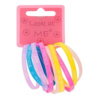 BFF Silicone Armbanden, 10st.