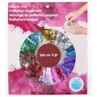 Pailletten Mix, 24 dlg.