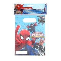Uitdeelzakjes Spiderman, 6st.