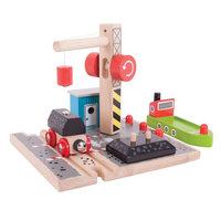 Houten Rails - Laadstation Steenkool