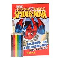 Spiderman Kleur- en Spelletjesblok