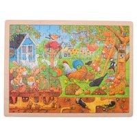 Houten Legpuzzel - Leven in de Tuin