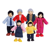 Hape Poppenhuis Familie Aziatisch