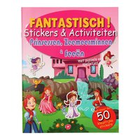 Fantastisch Stickerboek - Prinses, Zeemeermin & Fee