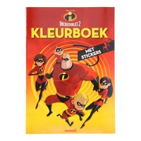 Incredibles 2 Kleurboek met Stickers