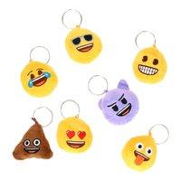 Emoji Sleutelhanger Pluche