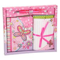Dagboek met Briefpapier - Vlinder
