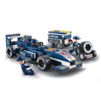 Sluban Racewagen Blauw