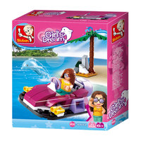 Sluban Girl's Dream Hovercraft