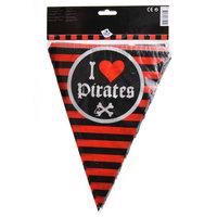 Vlaggenlijn Piraten, 6mtr.