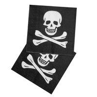 Piraten Servetten, 12st.