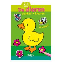 Plakken en Kleuren: De Dieren, 2-4 jaar