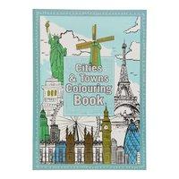 Kleurboek Cities & Towns