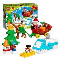 LEGO Duplo Town 10837 Wintervakantie van de Kerstman